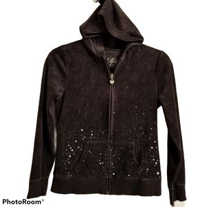 Justice Velour Hoodie New Without Tag